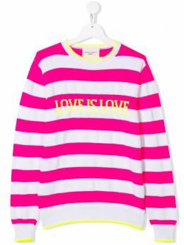Alberta Ferretti Kids джемпер Love Is Love 024271