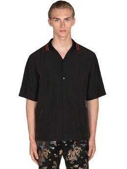 Рубашка Боулинг Martine Rose 71IBF7011-QkxBQ0s1