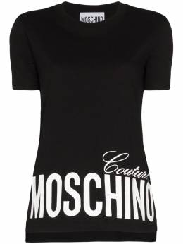 Moschino футболка с логотипом A07030540