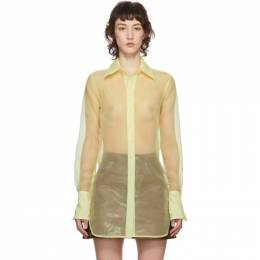 Simon Miller Yellow Rowena Shirt W532-3092