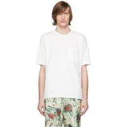 Dries Van Noten Off-White Pocket T-Shirt 21157-9606-005