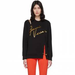 Versace Black Pin Signature Sweatshirt A85847 A231242