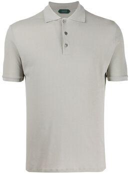 Zanone рубашка-поло узкого кроя 812081ZW370