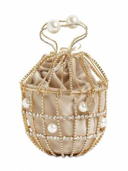 Ginestra Crystal Bucket Bag Rosantica 71IWVS016-Q1JZ0