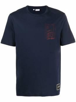Brioni футболка с графичным принтом UJCH0LP9636