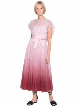 Платье С Градиентом Red Valentino 71IR1Z014-UjEz0