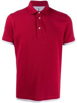 Brunello Cucinelli рубашка-поло с короткими рукавами M0T633966CL719