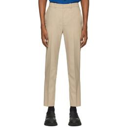 3.1 Phillip Lim Beige Wool Needle Trousers S201-5000WPLM