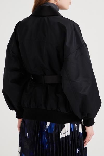 Черная куртка с шалевым воротником Emporio Armani 2706183879 - 4