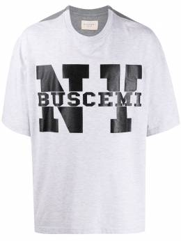 Buscemi футболка с принтом NY 20203GRIGIO089