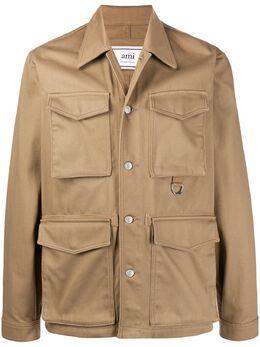 Ami Paris куртка с карманами карго E20HOW510230