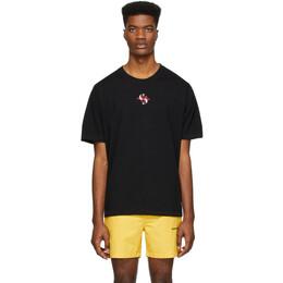 Stolen Girlfriends Club Black Classic Logo T-Shirt C4-19T001BG