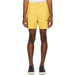 Stolen Girlfriends Club Yellow Subtle Shorts C4-19279