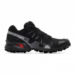 Salomon Black Limited Edition Speedcross 3 ADV Sneakers 410855