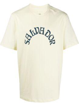 Oamc футболка Salvador OAMQ708367GIALLO113