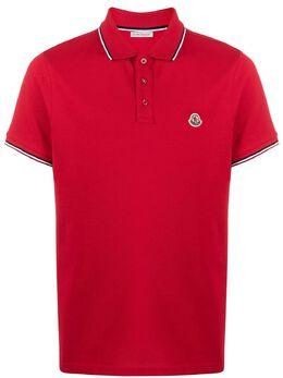 Moncler рубашка-поло с логотипом 8A7030084556