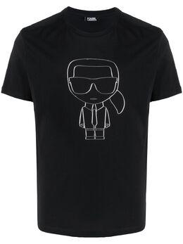 Karl Lagerfeld футболка с принтом Ikonik 7550510501220
