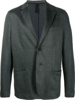 Harris Wharf London однобортный пиджак узкого кроя C8P22PED