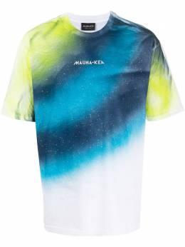 Mauna Kea футболка с принтом тай-дай MKU101