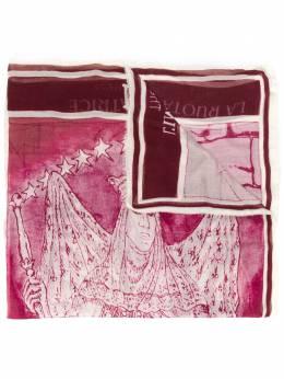 Faliero Sarti шарф с вышитым логотипом E202044