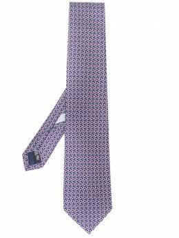 Salvatore Ferragamo галстук с узором 358768722411