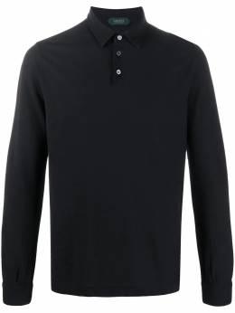 Zanone рубашка-поло с длинными рукавами 811819Z0380