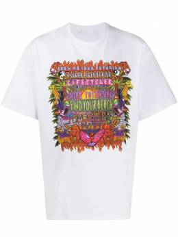 Neil Barrett футболка с принтом BJT741SN513P