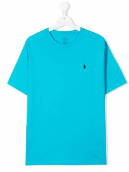 Ralph Lauren Kids футболка с круглым вырезом 703638