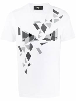 Fendi футболка Cubic Eyes FAF532AAY5