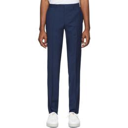 Boss by Hugo Boss Blue Genius Slim-Fit Trousers 50426837