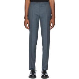 Boss by Hugo Boss Blue Genius Slim-Fit Trousers 50427167