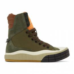 Chloe Green Clint High-Top Sneakers CHC20S300K3