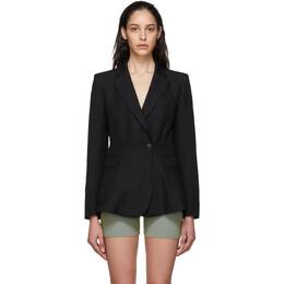 Jacquemus Black La Veste Qui Vole Blazer 201JA04-201 02990
