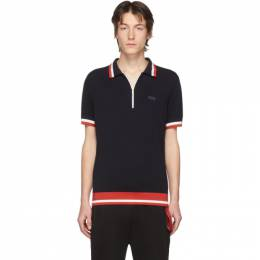 Hugo Navy Knit Polo 50422941