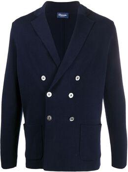 Drumohr двубортный пиджак D01C461N