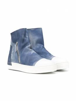 Cinzia Araia Kids ботинки с молниями по бокам AK1513