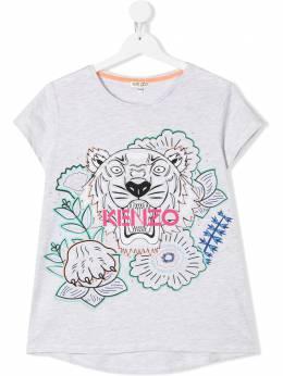 Kenzo Kids футболка с логотипом KQ10208