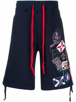 Paul & Shark спортивные шорты из коллаборации с Greg Lauren P20P1479