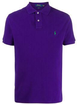 Polo Ralph Lauren рубашка-поло с вышитым логотипом 710795080