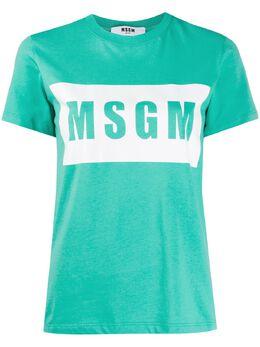 MSGM футболка с логотипом 2841MDM95207298