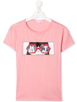 Little Marc Jacobs футболка с графичным принтом W15491480
