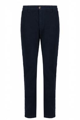 Укороченные синие брюки Eleventy 2014184664