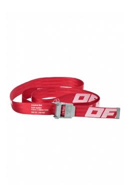 Красный ремень с логотипом Off-White 2202184546