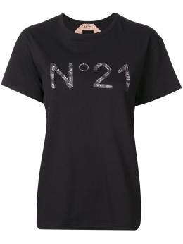 No. 21 футболка с принтом 20EN2M0F0114157