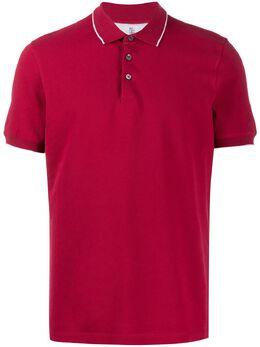 Brunello Cucinelli рубашка-поло с короткими рукавами M0T630718CM286