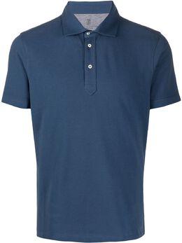 Brunello Cucinelli базовая рубашка-поло M0T633936C9364