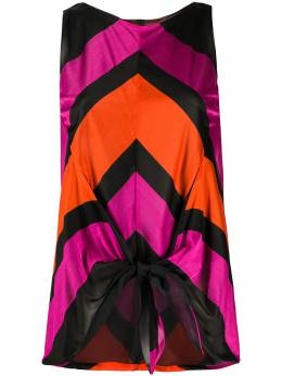 Balenciaga Pre-Owned блузка с узором шеврон MZ191289