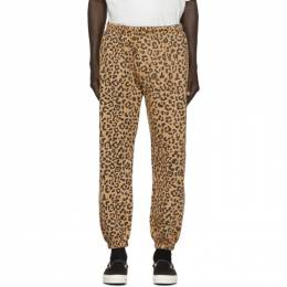 Vyner Articles Tan Leopard Chaos Lounge Pants 1A016003