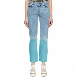 Stella McCartney Blue The Straight Boyfriend Jeans 600317SNH56