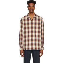 Joseph Brown Check Azzedine West End Shirt JF004504